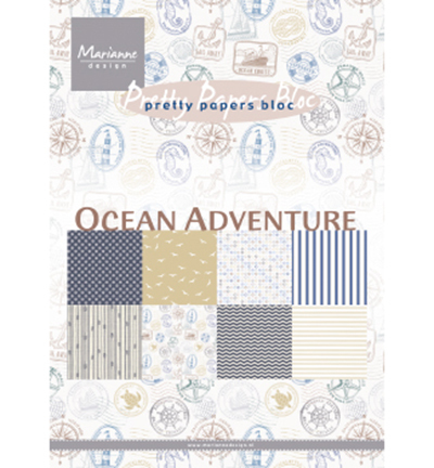 Marianne Design - Paperpad A5 - Ocean Adventures