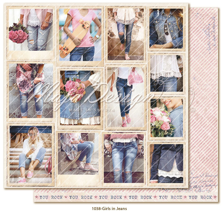 Maja Design - Denim & Girls - Snapshots Girls in Jeans