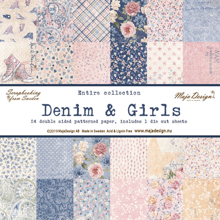 Maja Design - Denim & Girls - COMPLETE SET