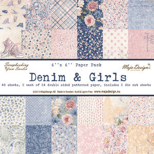 Maja Design - Denim & Girls - Paperpad