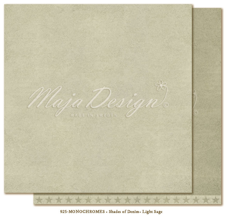 Maja Design - Monochromes - Shades of Denim & Girl - Light Sage
