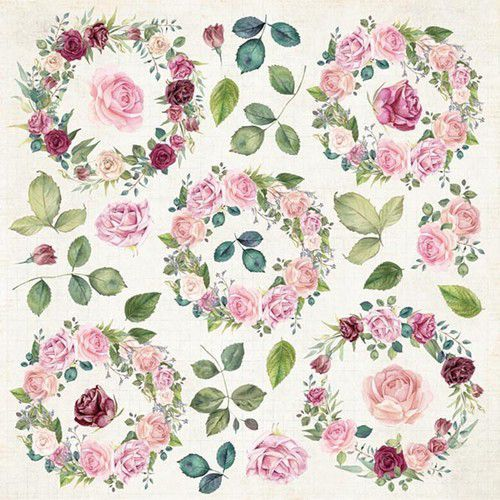 Craft&You Design - Flower Vibes - Sheet elements to cut out