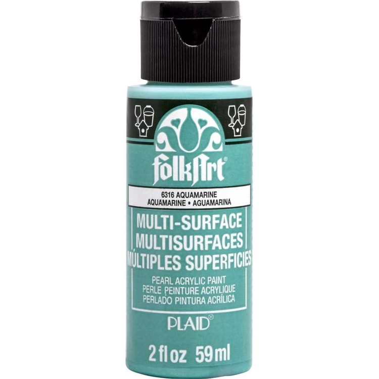 FolkArt / Plaid - Multi-Surface 59ml - Pearl Aquamarine