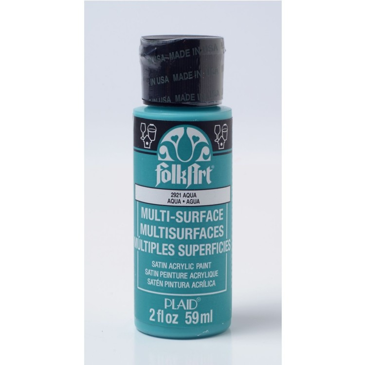 FolkArt / Plaid - Multi-Surface 59ml - Aqua