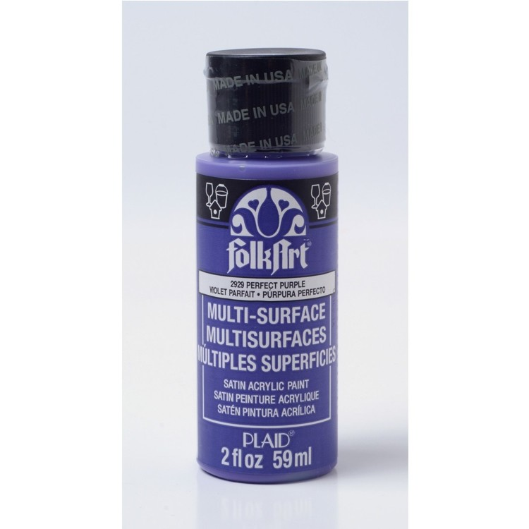 FolkArt / Plaid - Multi-Surface 59ml - Perfect Purple