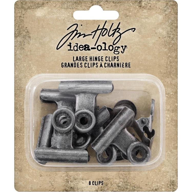 Tim Holtz - Idea-Ology - Large Hinge Clips