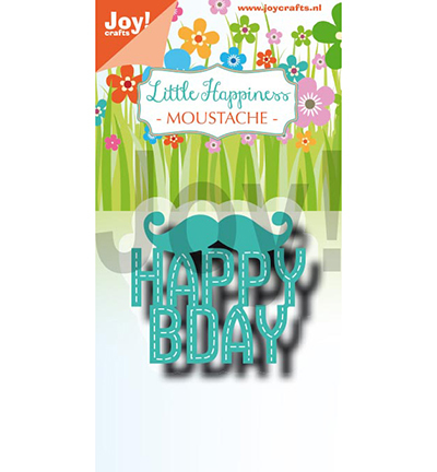 Noor! Design - Little Happiness - Happy Birthday Moustache