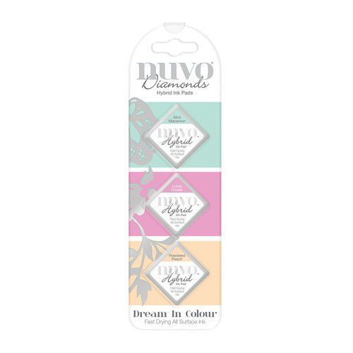 Nuvo - Diamond Hybrid Ink Pads - Dream in Colours