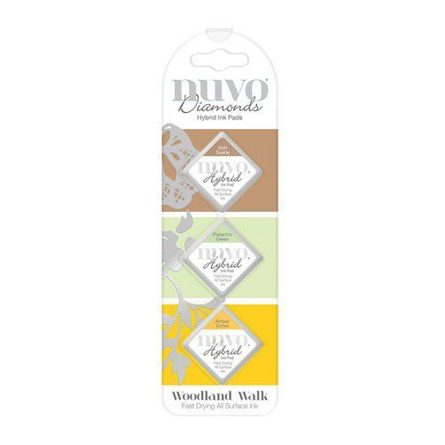 Nuvo - Diamond Hybrid Ink Pads - Woodland Walk