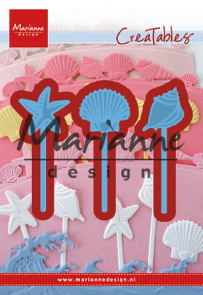 PRE-ORDER 5 - Marianne Design - Creatable - Sea Shell Pins