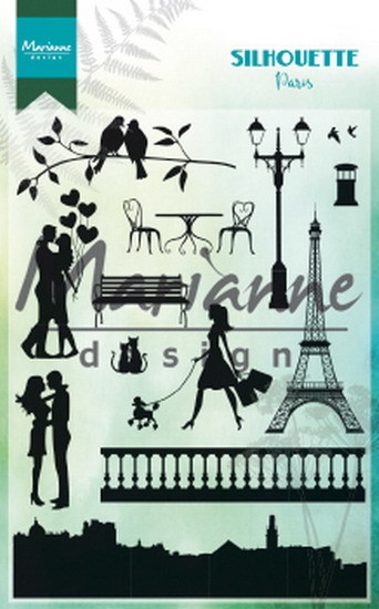 PRE-ORDER 5 - Marianne Design - Clearstamp - Silhouette Paris