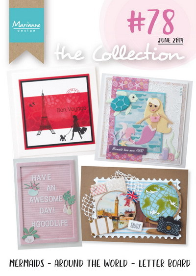 PRE-ORDER 5 - Marianne Design - Tijdschrift The Collection - #78
