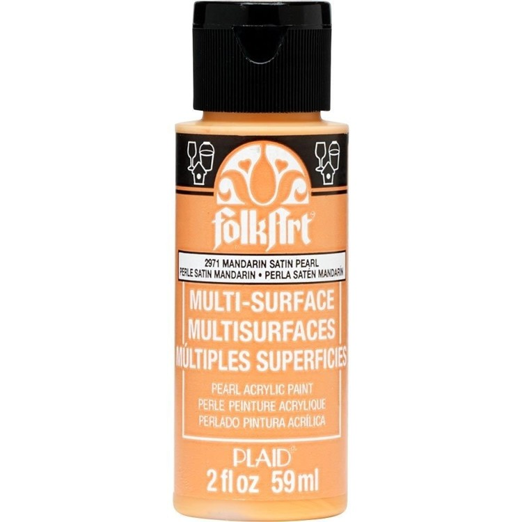 FolkArt / Plaid - Multi-Surface 59ml - Pearl Mandarin Satin