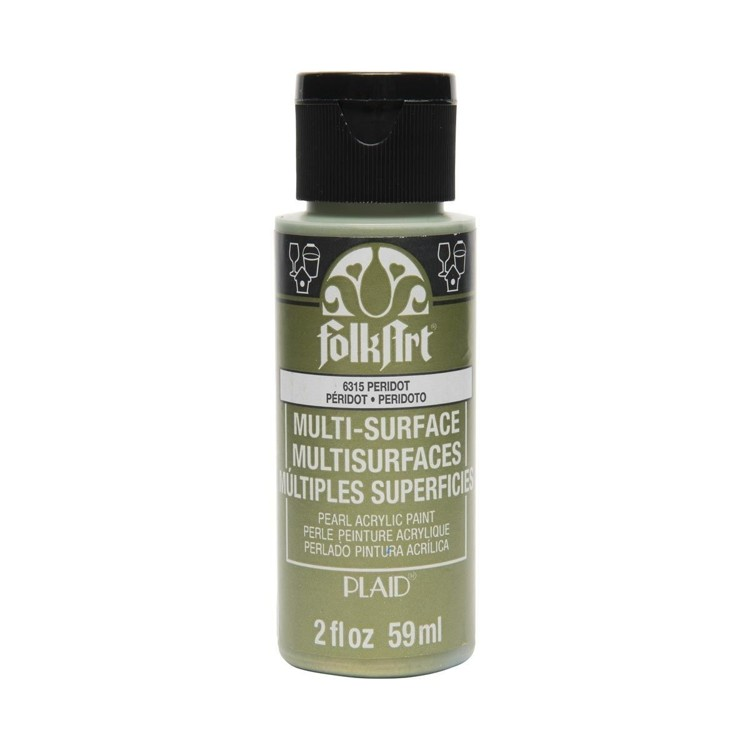 FolkArt / Plaid - Multi-Surface 59ml - Pearl Peridot
