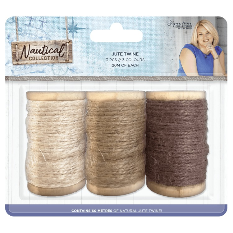 Crafter's Companion - Sara Signature Collection - Nautical Collection - Jute Twine