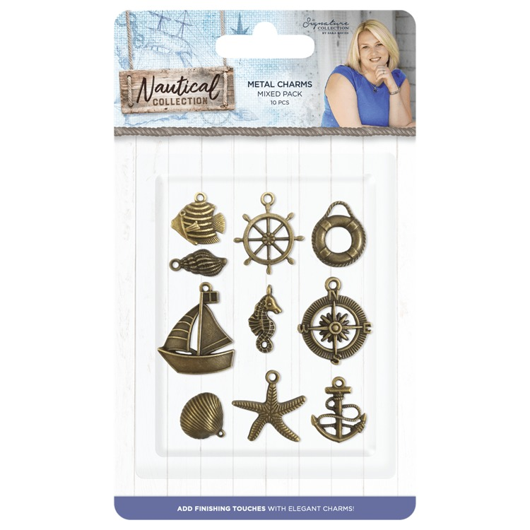 Crafter's Companion - Sara Signature Collection - Nautical Collection - Charms