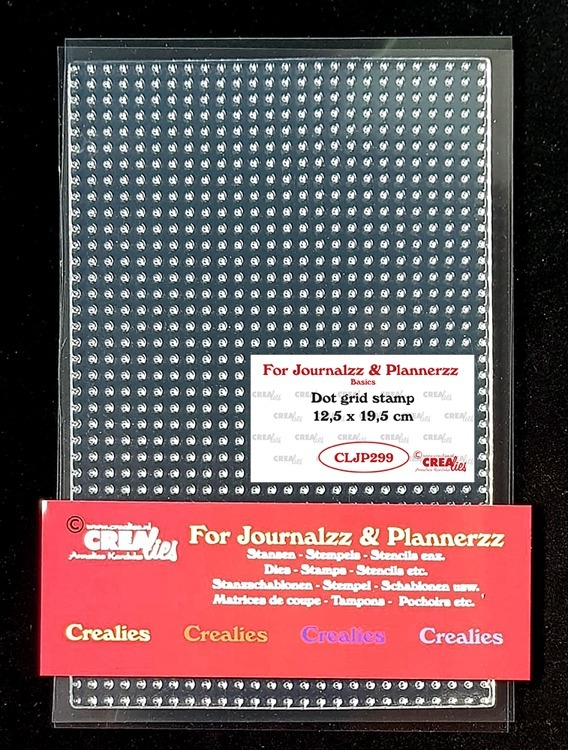 Crealies - Journalzz & Plannerzz - Stempels Bulletjournaling Dot grid