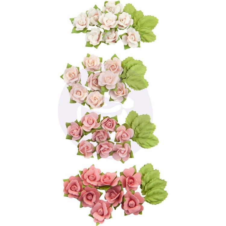 Prima Marketing - Paper Flowers Fruit Paradise - Raspberry Kisses