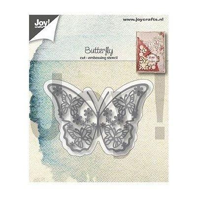 Joy! Crafts - Cutting & Embossingmal - Vlinders in vlinder
