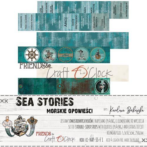 Craft-O-Clock - Quotes to cut out - Sea Stories