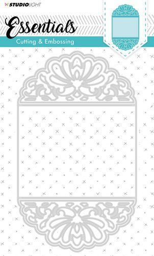 Studio Light Embossing Die Cut Stencil - Ticketmal 196