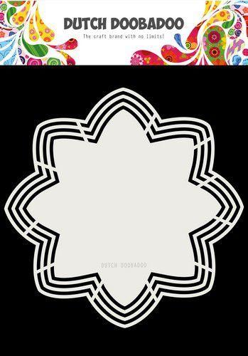 Dutch Doobadoo - Dutch Shape Art - Octo Flower 21x21