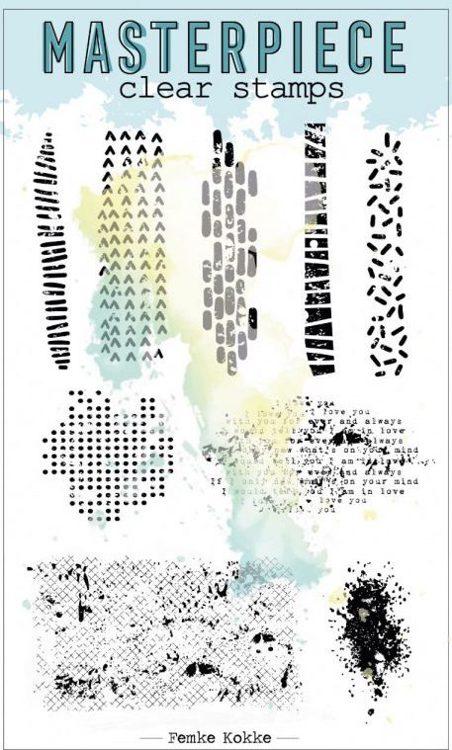 Clearstamp Femke Kokke - Masterpiece - Set #8