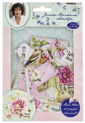 Studio Light - Easy Die Cut Paper Set - Janneke Brinkman EASYJBS651