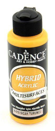 Cadence - Hybride acrylverf (semi mat) - Warm oranje