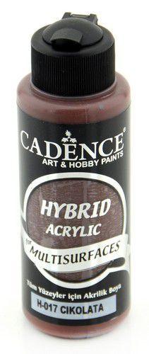 Cadence - Hybride acrylverf (semi mat) - Chocolade