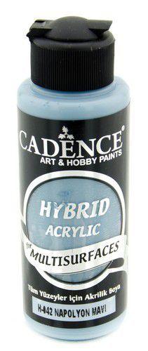 Cadence - Hybride acrylverf (semi mat) - Napoleon blauw