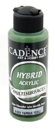 Cadence - Hybride acrylverf (semi mat) - Bladgroen