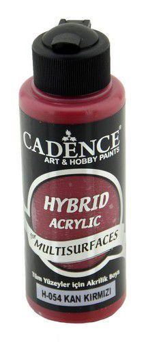 Cadence - Hybride acrylverf (semi mat) - Bloed rood