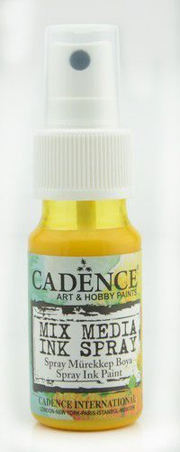 Cadence - Mix Media Shimmer Metallic Spray - Geel
