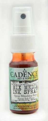 Cadence - Mix Media Shimmer Metallic Spray - Donker oranje