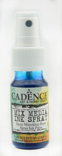 Cadence - Mix Media Shimmer Metallic Spray - Blauw