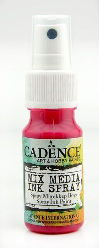 Cadence - Mix Media Shimmer Metallic Spray - Licht fuchsia