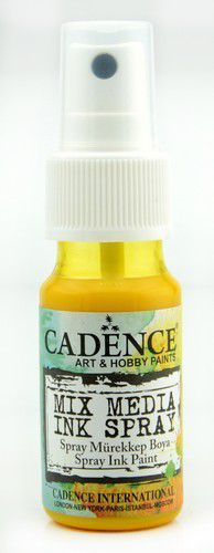 Cadence - Mix Media Inkt Spray - Geel
