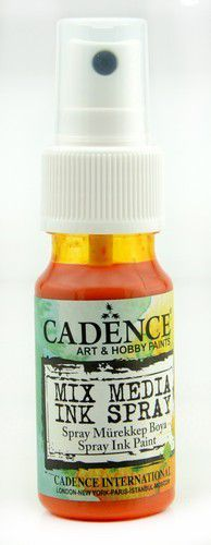Cadence - Mix Media Inkt Spray - Oranje
