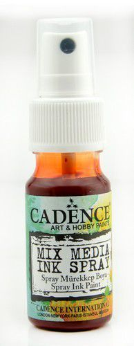 Cadence - Mix Media Inkt Spray - Donker oranje