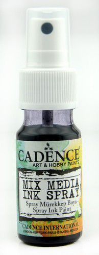 Cadence - Mix Media Inkt Spray - Zwart
