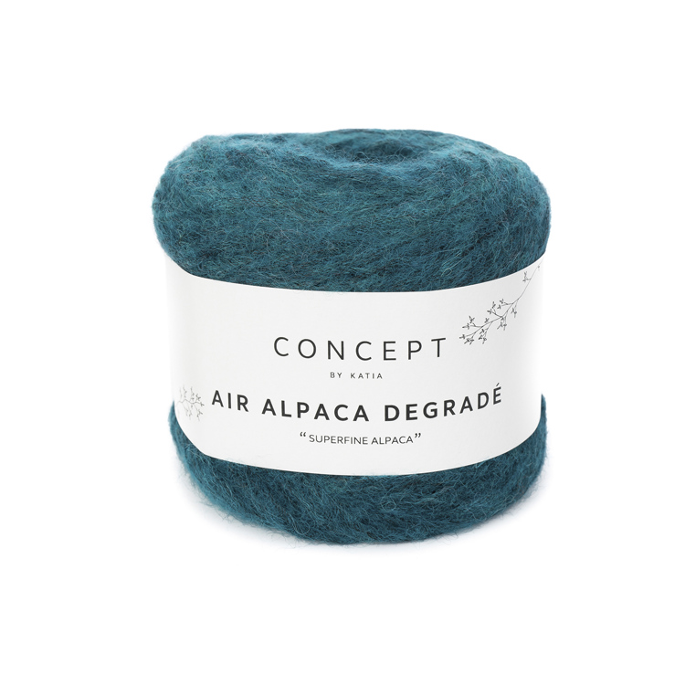 Breiwol Katia - Air Alpaca Degrade -kleur 66