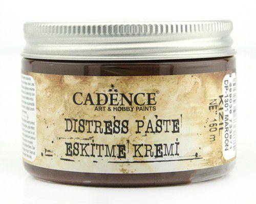 Cadence - Distress Pasta Maroon - Kastanjebruin