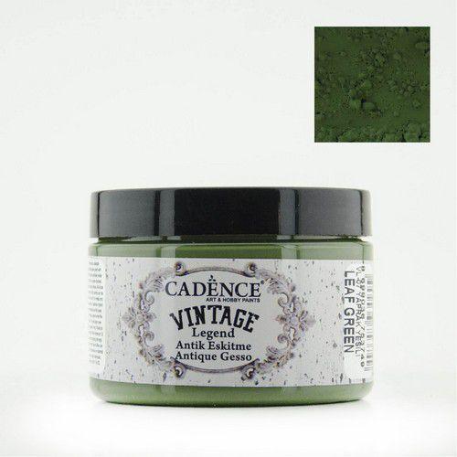 Cadence - Vintage Legend Gesso - Bladgroen