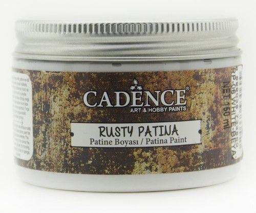 Cadence - Rusty Patina Verf - Wit