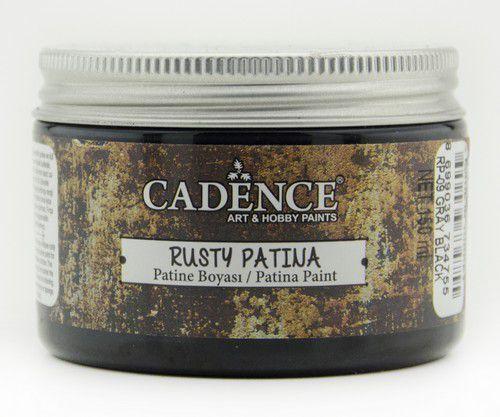 Cadence - Rusty Patina Verf - Grijs zwart