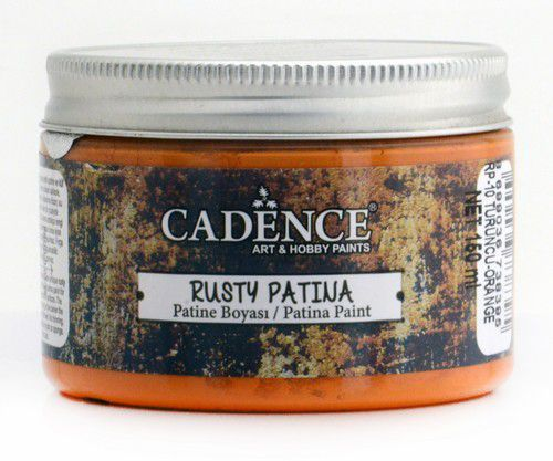 Cadence - Rusty Patina Verf - Oranje