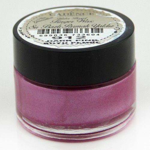 Cadence - Water Based Vinger Wax - Donker roze