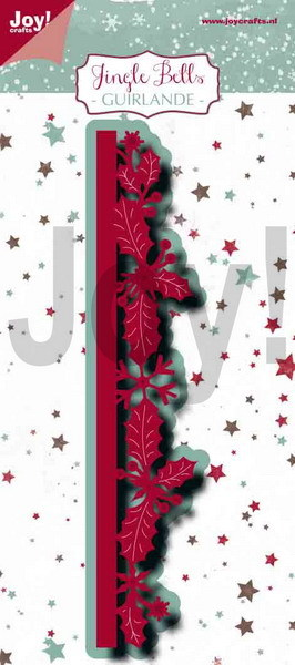 Noor! Design - Jingle Bells - Stansmal Guirlande border