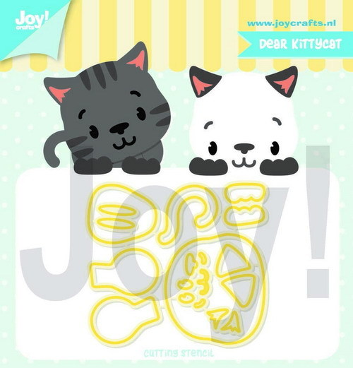Joy! Crafts - Jocelijne Design - Stansmal Dear Kittycat